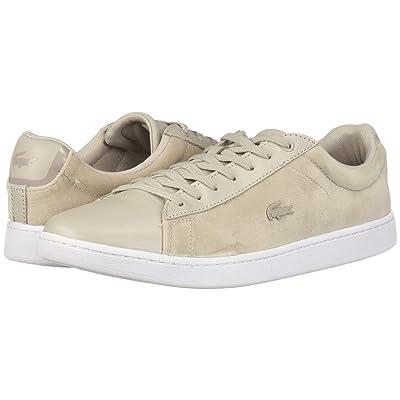 Lacoste Carnaby Evo 318 8 (Grey/White) Women