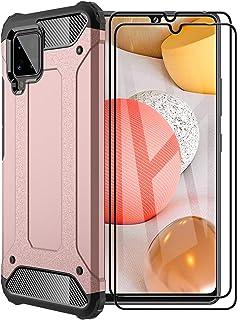 FANFO® Funda para Samsung Galaxy A42 5G, protección contra Golpes de TPU + PC Resistente a arañazos (Doble Capa) Carcasa p...