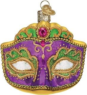 Old World Christmas 36241 Ornament, Mardi Gras Mask
