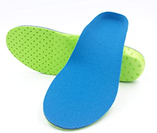 Sunoer Arch Support Shoe Insoles for Men & Women, Orthotic Inserts High-Arch Shock Absorption Insoles Cushioning for Plantar Fasciitis, Foot Pain, Running Athletic Sport