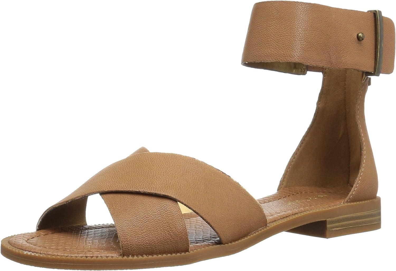 Nine West Womens Xen Leather Dress Sandal