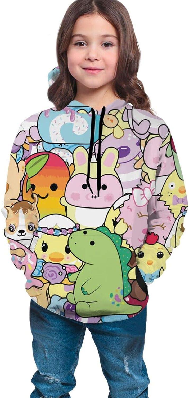 EAROBA Boy's Girl's Hoodie Pullover Moriah Popular product Elizabeth Max 77% OFF Pickle Lon