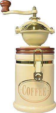 Bisetti Volluto Coffee Grinder, Cream