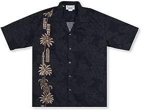 Hawaiian Tiki Panel Aloha Shirt