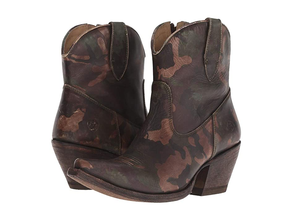 11767f21b51c75 Ariat Circuit Cruz (Distressed Camo) Cowboy Boots
