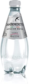 San Benedetto Natural PET water, 400ml (Pack of 12)