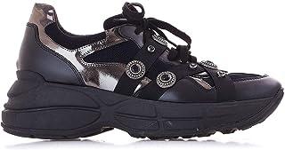 LEMARÉ Luxury Fashion Womens 2200BLACK Black Sneakers | Fall Winter 19