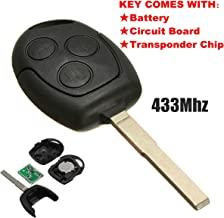 KaTur 3 Buttons 433.92MHz Remote Key Blade FOB for Ford/Focus for Galaxy/C max/Mondeo / Fiesta