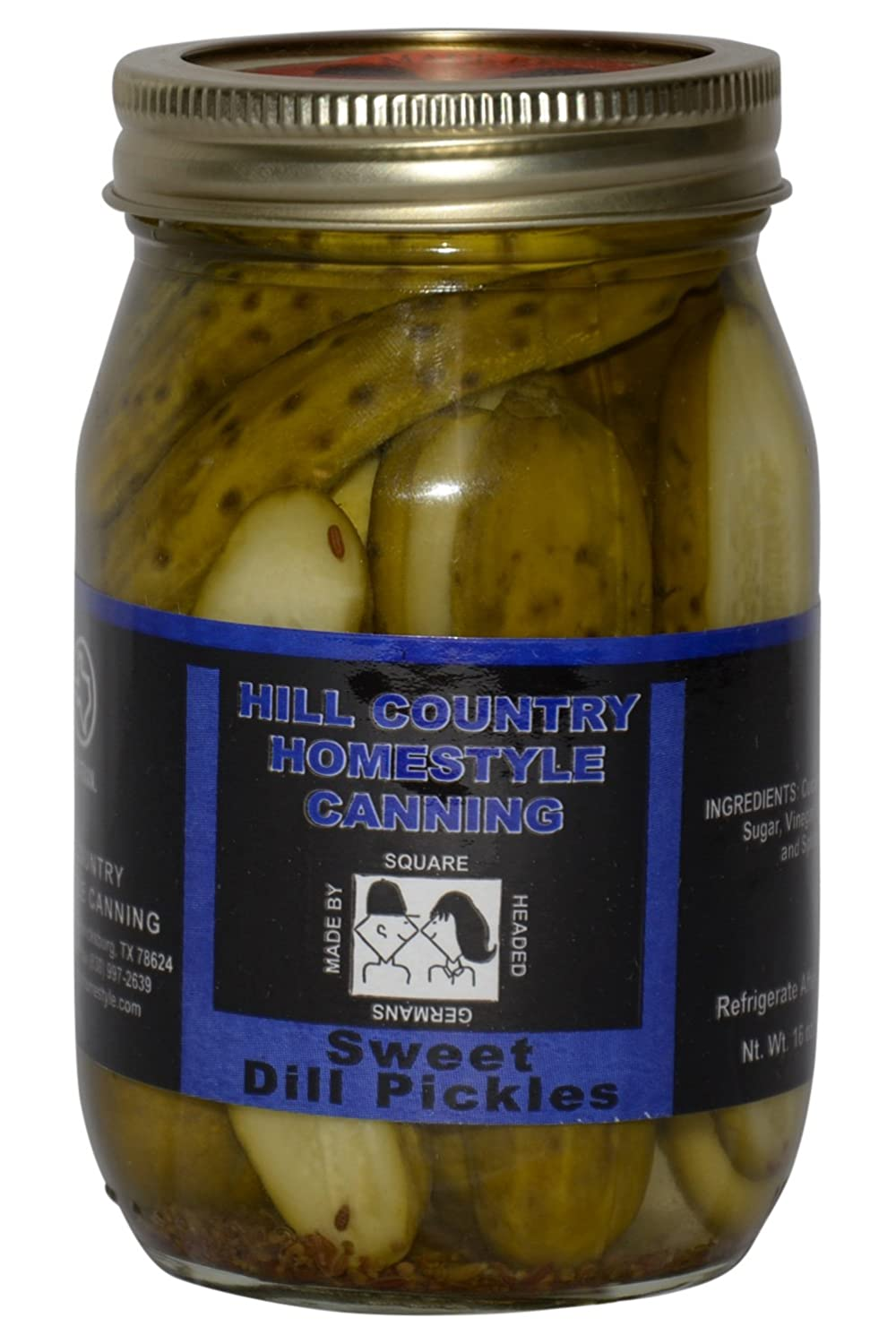 Texas Hill 5 ☆ Albuquerque Mall popular Country Sweet 16oz Pickles Dill
