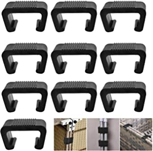 FUCHEN Outdoor Furniture Clips Patio Sofa Clips Rattan Furniture Clamps Wicker Chair Fasteners Connect The Sectional or Module Outdoor Couch Patio Furniture