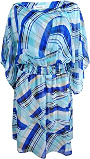 Women's Chiffon Printed Kimono Dress