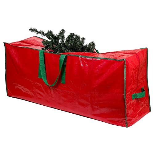 Christmas Tree Storage Bag - Stores a 9-Foot Disassembled Artificial Xmas  Holiday Tree. - Plastic Christmas Tree Storage Containers: Amazon.com