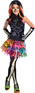 Monster High Skelita Calaveras Child's Costume, Small, As Shown