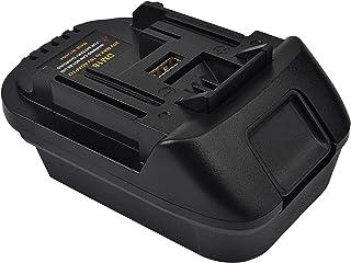DM18M Battery Adapter for Makita 18V Lithium-ion Power Tools,Convert Dewalt DCB200 DCB205 20V or Milwaukee 18V Lithium-ion...