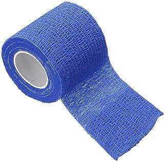 粘着テープ包帯カラフル12個、ソフトクリーン健康包帯、粘着包帯、スポーツに適し、手首、足首 (Color : 03)