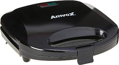 Sanduicheira Elétrica, Amvox, Ams 370 New 110V, Preta