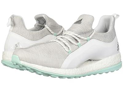 adidas Golf Pureboost XG 2 (Footwear White/Grey Two/Clear Mint) Women
