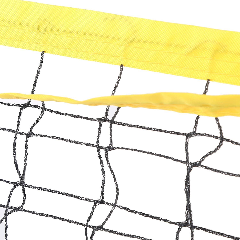 Ejoyous Volleyball Supplies Nylon Over item handling Set Net 5 ☆ very popular Beach