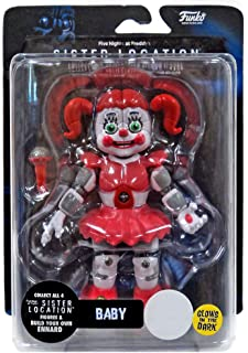 Funko Five Nights at Freddy's FNAF Sister Location BABY GITD Action Figure