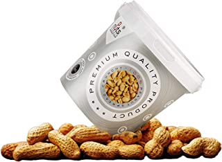 ''PuNuts'' Mantequilla de Cacahuete, Textura Crujiente, Sin Grasa de Palma, 100% Natural Peanut Butter 1kg (Cacahuete)