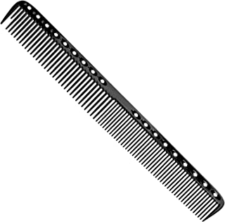 D2D Aluminum Hair Comb Metal Cutting Hairdressing & Barbers Salon Professional Combs Anti-Static Ultra Thin Black