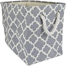 DII Printed Polyester, Collapsible and Convenient Storage Bin to Organize Office, Bedroom, Closet, Kid's Toys, & Laundry -...