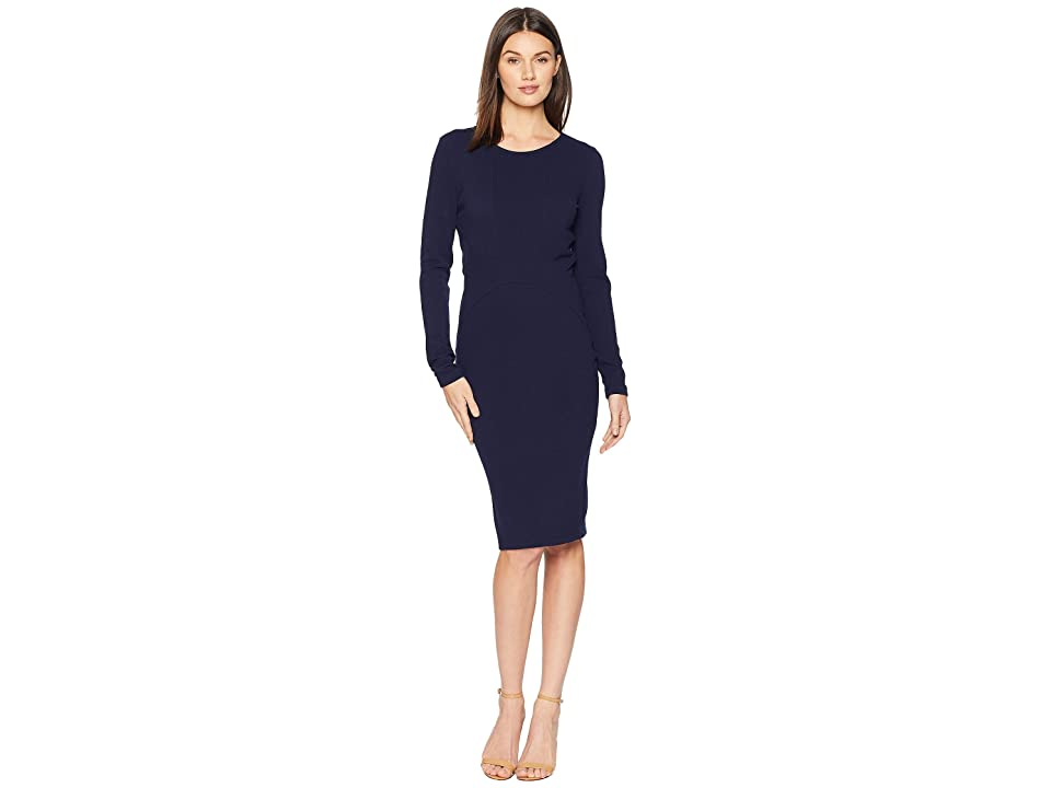 ROMEO & JULIET COUTURE Midi Knit Dress (Navy) Women