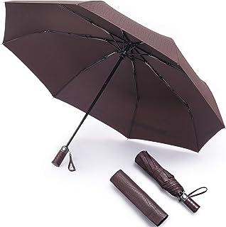 RECHAR Windproof Large Travel Umbrella 一 52 inch Automatic Unbreakable Umbrella, Men&Women Totes Umbrella, 1-Year Quality Warranty No Refund …
