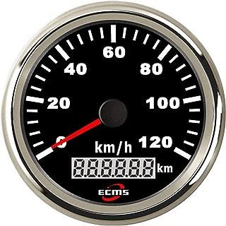 Auto Motorcycle 85mm GPS Speedometer 0-120Km/h Odometer Mileage Adjustable Overspeed Alarm Gauge Universal Meter