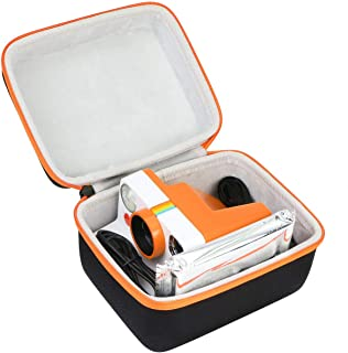Khanka Hårt fodral för polaroid nu/polaroid original One Steg 2/OneStep+ plus I-Type View Finder Instant Camera (Orange)