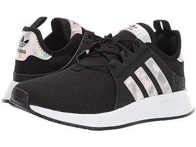 adidas Originals Kids X_PLR J (Big Kid) (Black/White) Girls Shoes