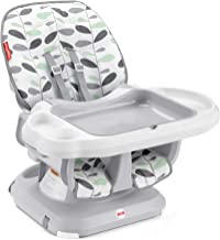 Fisher-Price SpaceSaver High Chair – Climbing Leaves, convertible infant-to-toddler..