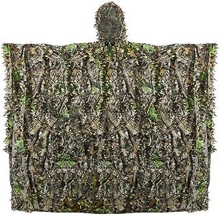 Poncho de Camouflage, Traje de Camuflaje Hoja Protector