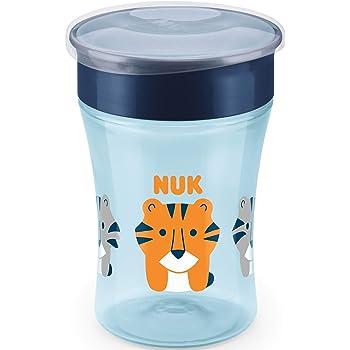 abdichtende Silikonscheibe 360/°-Trinkrand blau ab 8+ Monaten Tiger /& Koala NUK 10255465 Magic Cup 2er-Vorteilspack BPA frei Boy