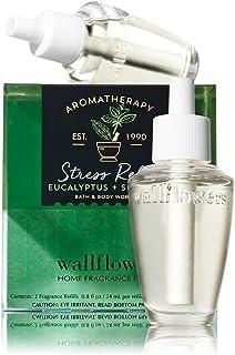 【Bath&Body Works/バス&ボディワークス】 ルームフレグランス 詰替えリフィル(2個入り) ストレスリリーフ ユーカリスペアミント Wallflowers Home Fragrance 2-Pack Refills Stress Relief Eucalyptus Spearmint [並行輸入品]