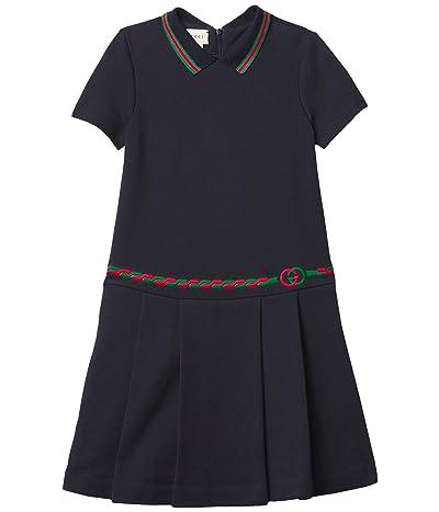Gucci Kids Embroidered Trim Dress (Little Kids/Big Kids)