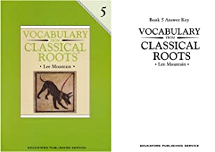Vocabulary from Classical Roots Grade 5 SET - Student Book, Answer Key