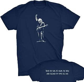ZJ Designs Jerry Garcia Tribute T-Shirt Grateful Shakedown Tee