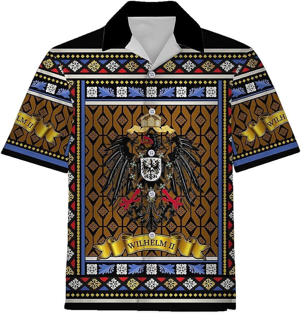 XStyles18 SEAL limited product Unisex Wilhelm II Challenge the lowest price of Japan ☆ Hawaiian Ha Shirts