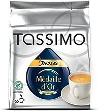 Tassimo Jacobs Krönung Médaille d´Or, Rainforest Alliance Certified, 16 T-Discs