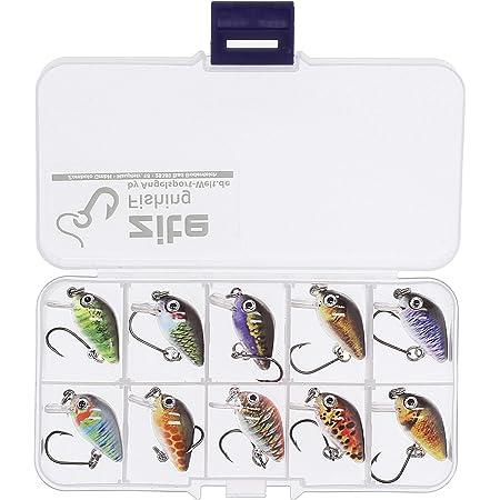 Forellen angeln 35 teiliges Kunstköder Set Hecht Karpfen Zander Barsch