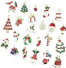 Romacci Pingente de liga de Natal DIY Acessórios de joias Pingente de joias Decoração de árvore de Natal