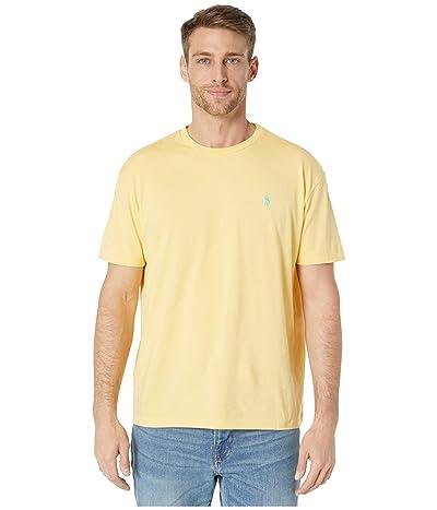 Polo Ralph Lauren Classic Fit Crew Neck Tee (Yellow) Men