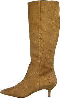 Athena Alexander Women's Lyon Knee High Boot, TAN SUEDE, 6 M US