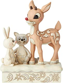 Enesco Woodland Rudolph with Friends Figurine, 5.75