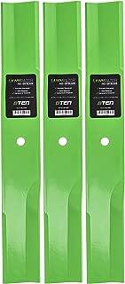 8TEN LawnRAZOR Low-Lift Blade Set 52 Inch Deck for Toro ProLine TimeCutter Z17 27-0990 44-5480 56-2390 92-7961