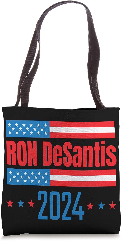 Ron DeSantis 2024 President Campain Tote Bag