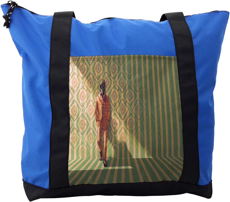 Ambesonne Fantasy Shoulder Bag, Fashion Retro Art, Durable with Zipper