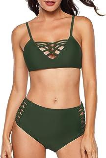 Sexy Women Off Shoulder Ruffles Chiffon Blouses Tops & Panties 2 Pcs Set Beachwear Bikini Swimwear Summer Fashion Women Suits Suits & Sets