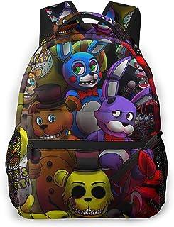 Five Nights At Freddy'S Backpack Mochila para Estudiantes Mochila Escolar Senderismo Bolsa de Viaje Mochila para Adolescen...